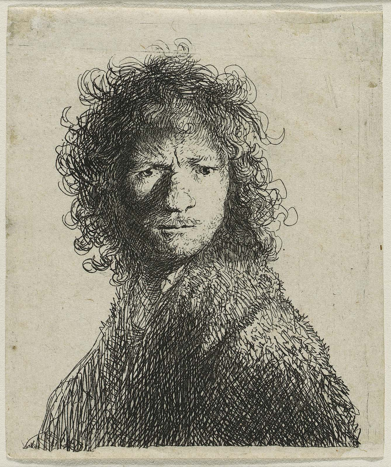 Self Portrait, Frowning: Bust | Museum of Fine Arts, Boston