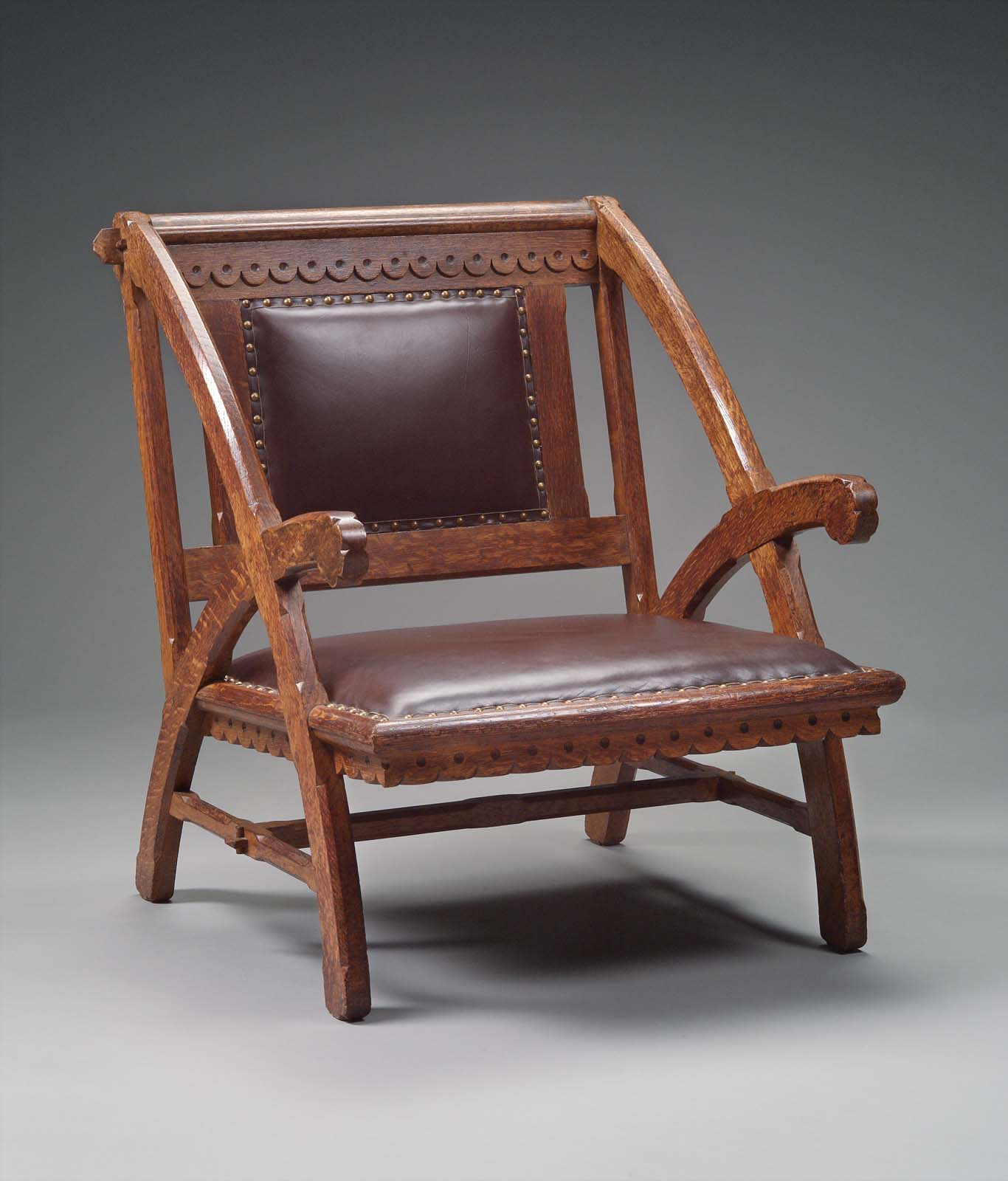 armchair for the woburn public library museum of fine arts boston