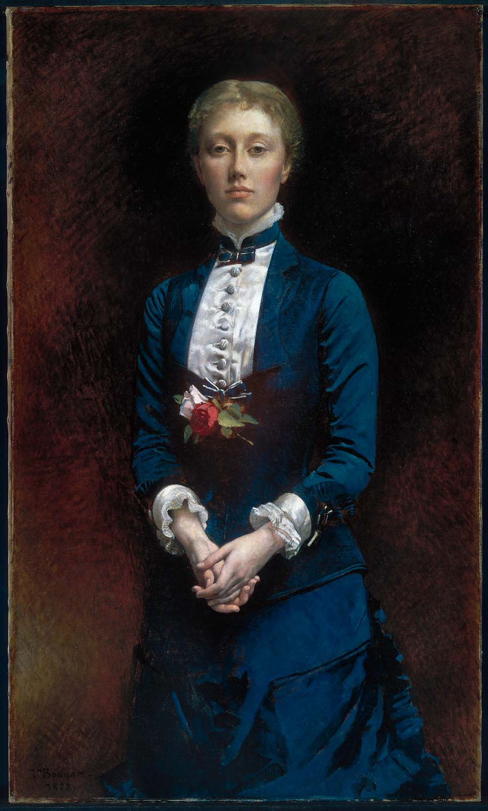 b4ba26d2d4bd Mary Sears (later Mrs. Francis Shaw)