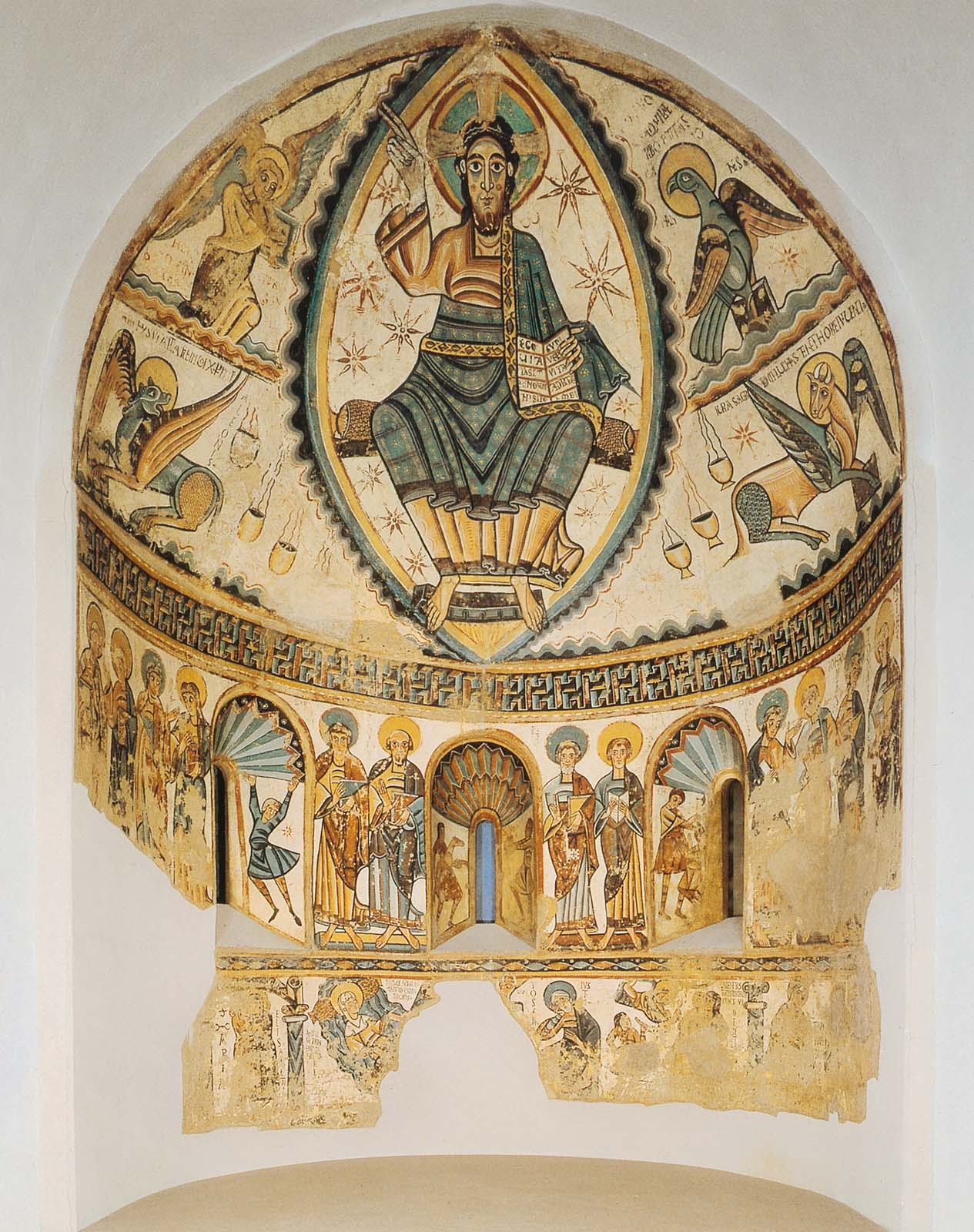 Christ In Majesty With Symbols Of The Four Evangelists Museum Of