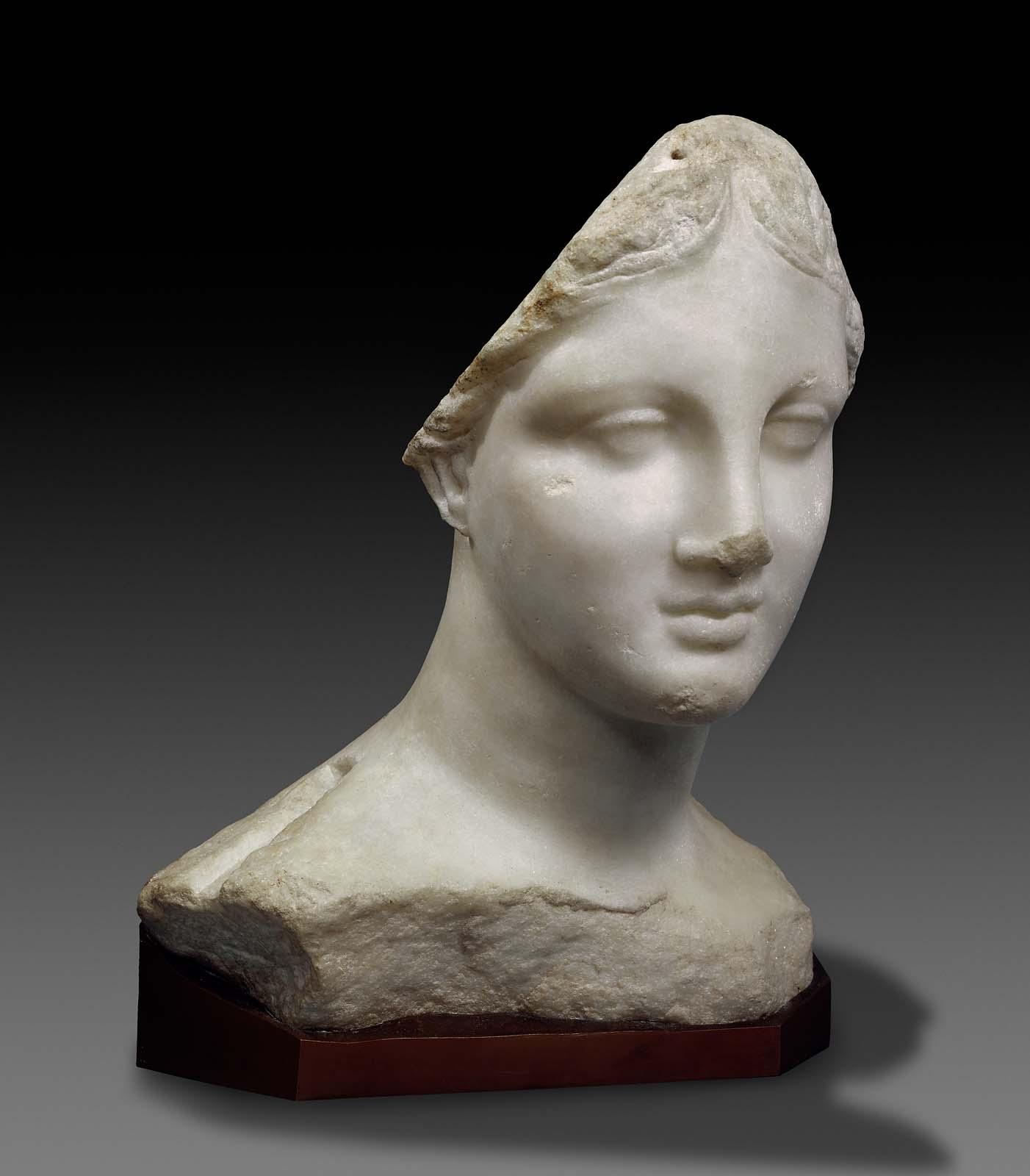 Head Of A Goddess   U0026quot The Chios Head U0026quot