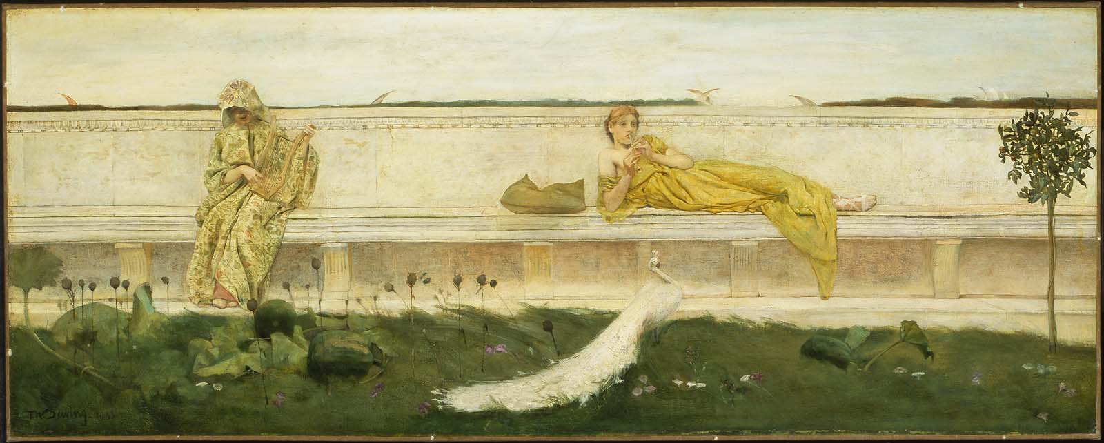 A Garden | Museum of Fine Arts, Boston