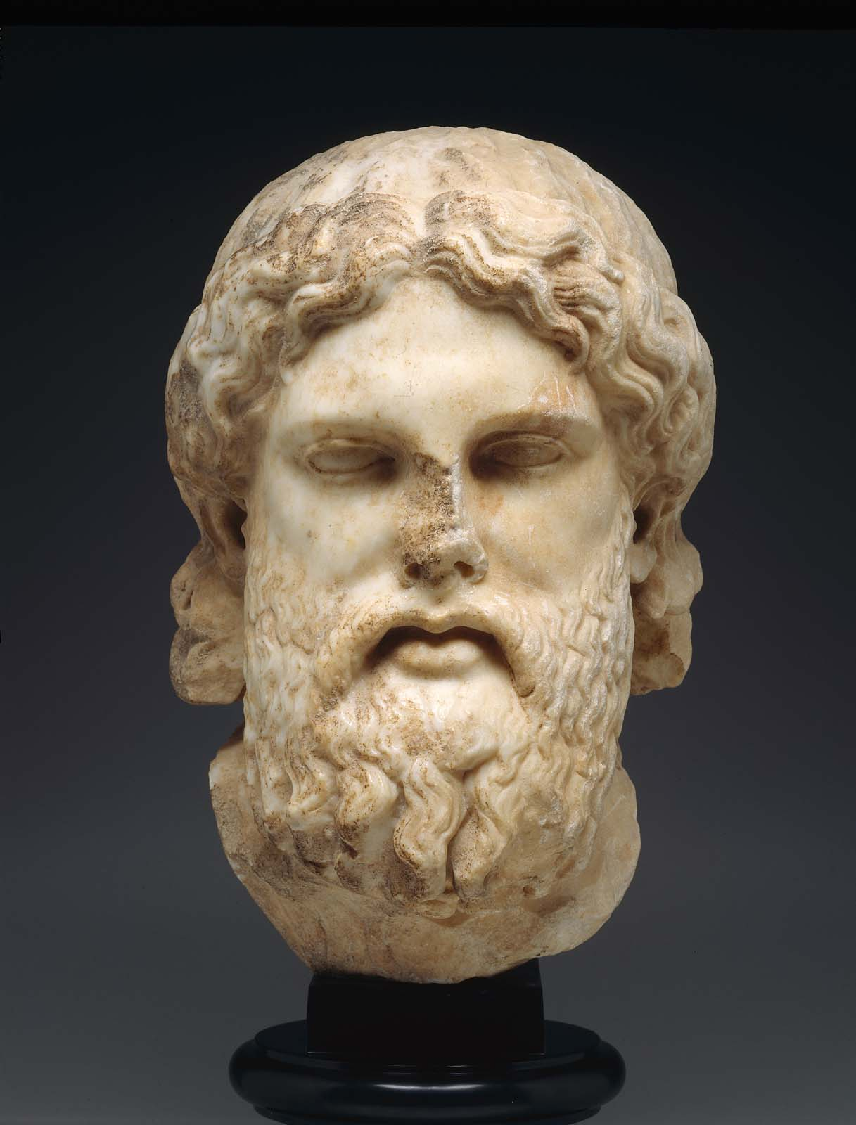 Head Of Zeus Museum Of Fine Arts Boston