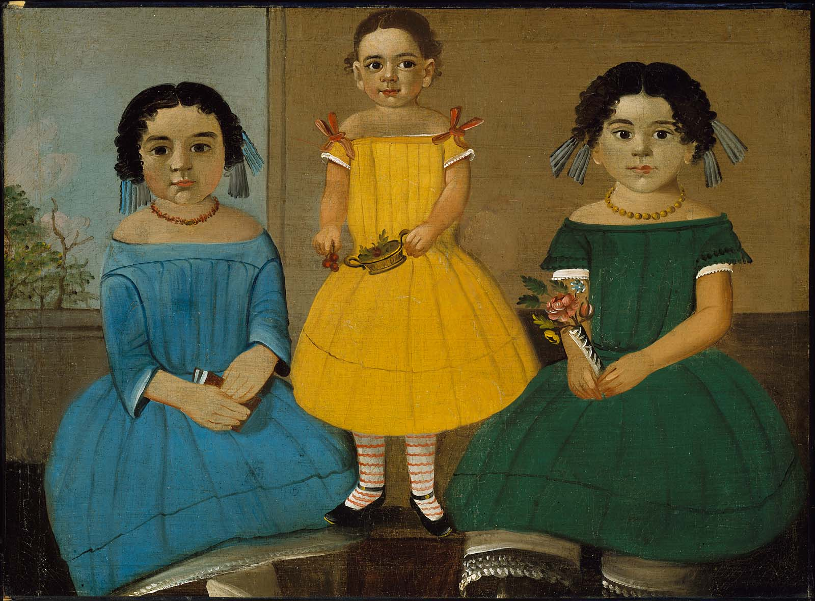 Three Sisters of the Copeland Family | Museum of Fine Arts, Boston