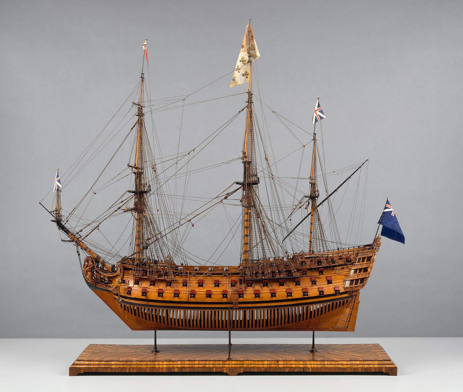 Gun ship of the line museum fine arts boston
