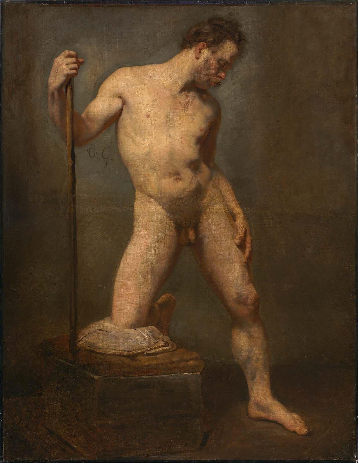 Male paintings nude