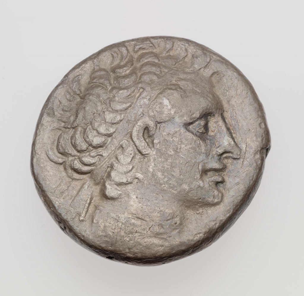 Coins & Paper Money Greek (450 Bc-100 Ad) Ptolemy Ar Tetradrachm High Resilience