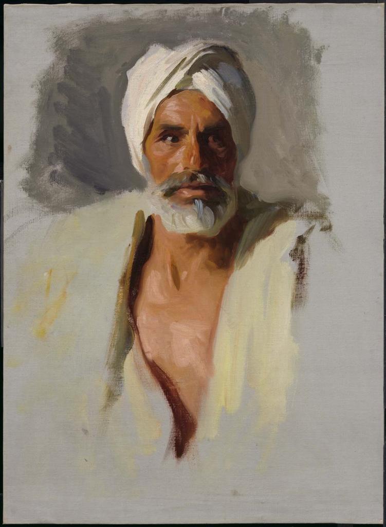 Head Of An Arab Museum Of Fine Arts Boston