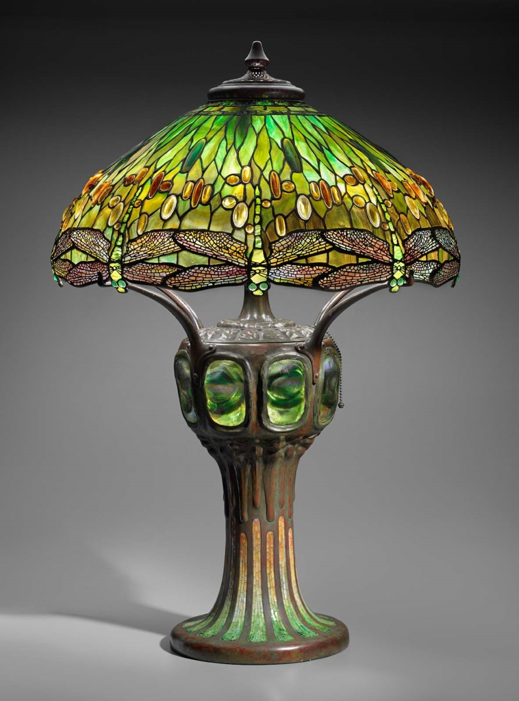 Quot Hanging Head Dragonfly Quot Table Lamp Museum Of Fine Arts