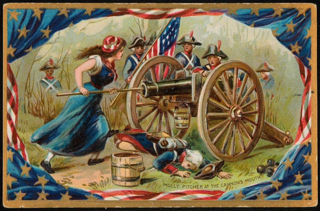 molly pitcher at the cannon s mouth museum of fine arts boston