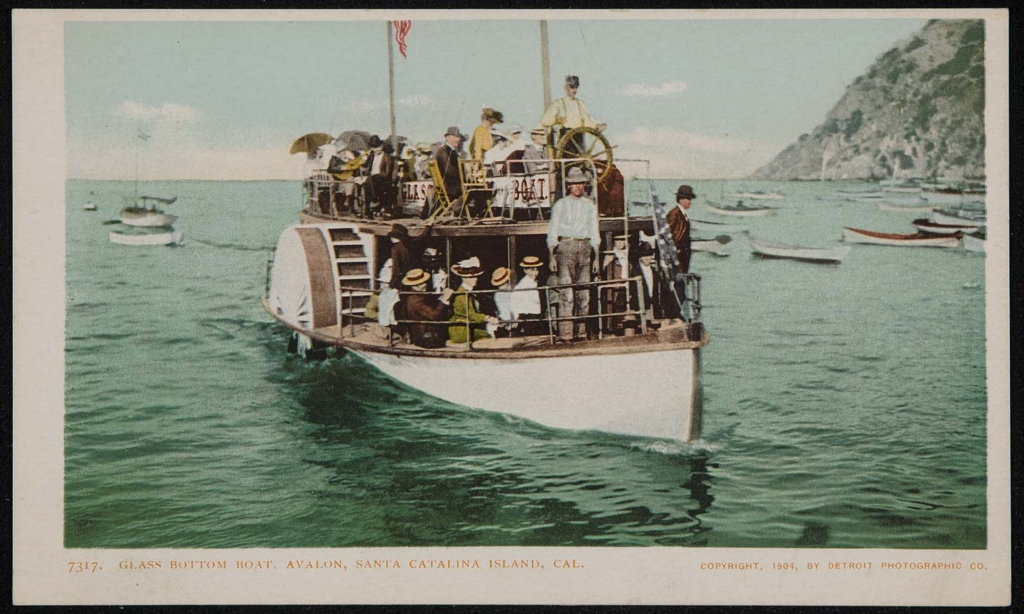 Glass bottom boat catalina island variant can