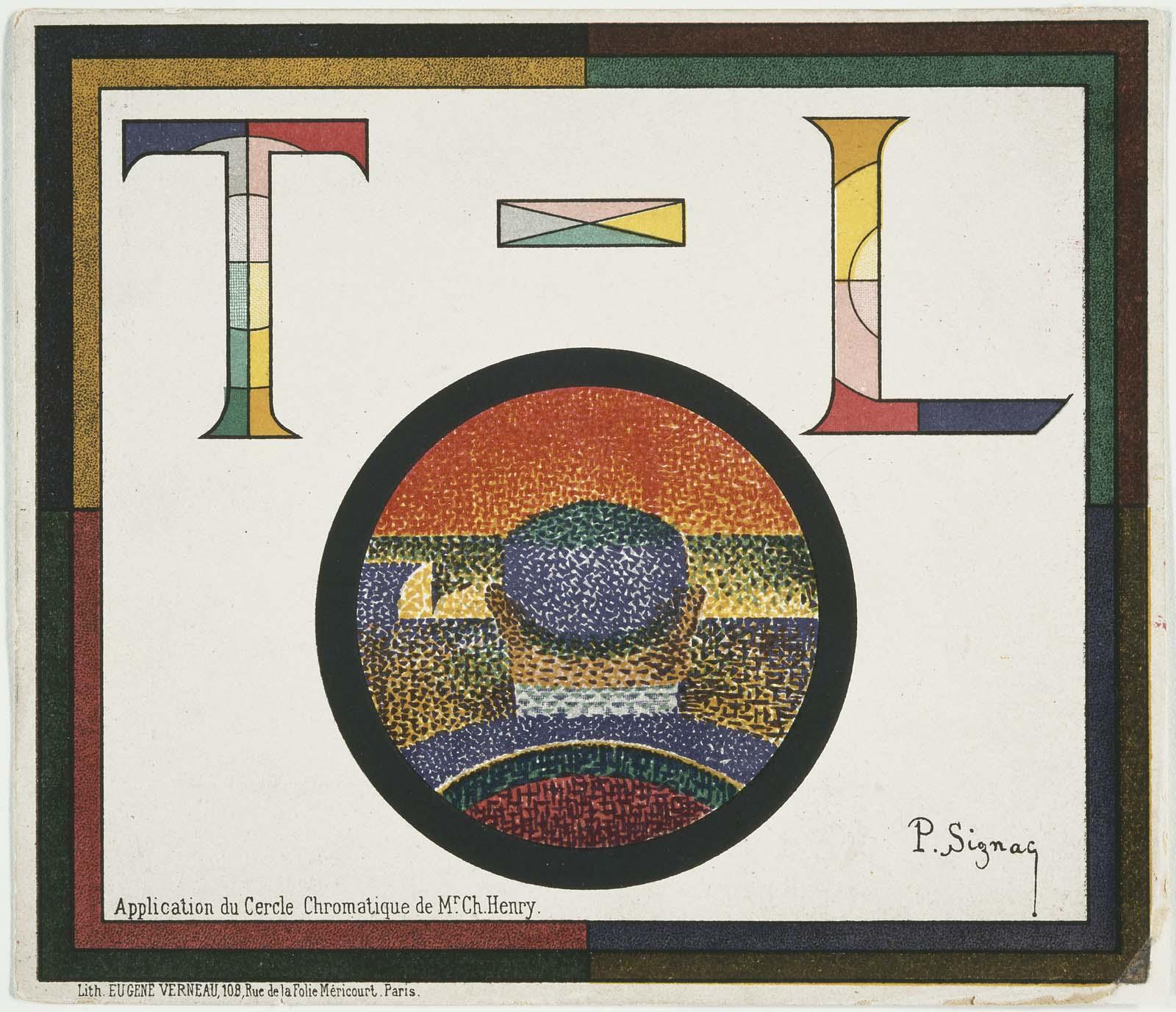 Application Du Cercle Chromatique Museum Of Fine Arts Boston