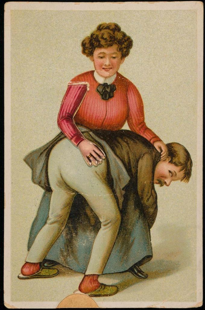 Woman spanking a man | Museum of Fine Arts, Boston
