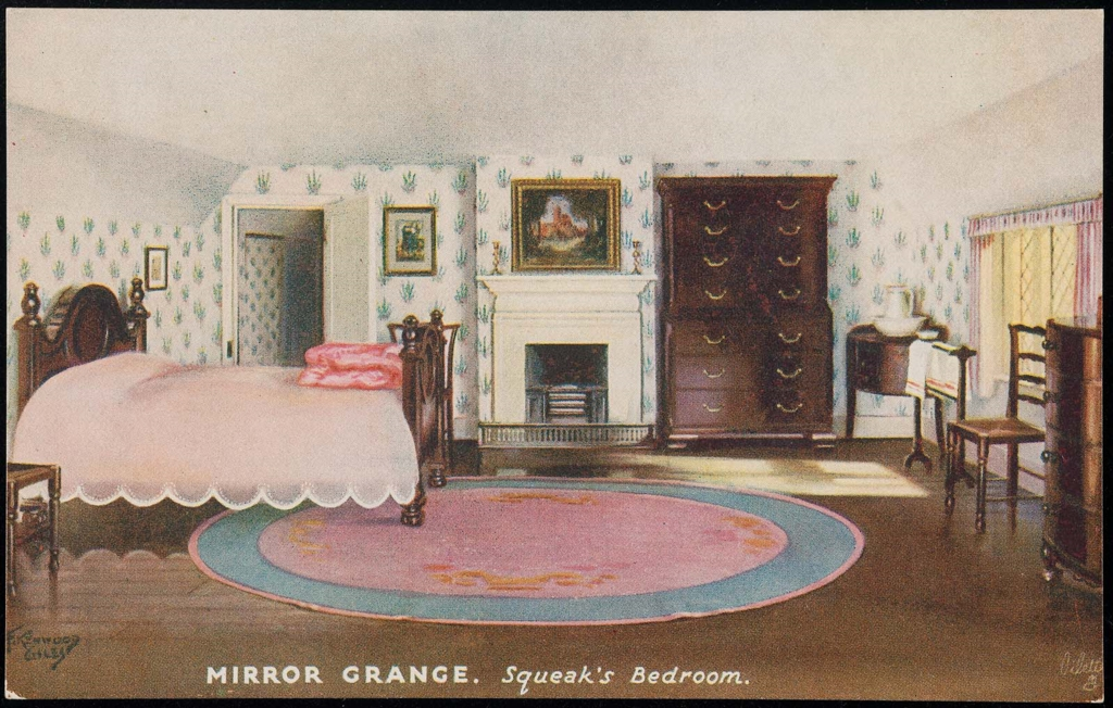 Mirror Grange Squeak S Bedroom Museum Of Fine Arts Boston