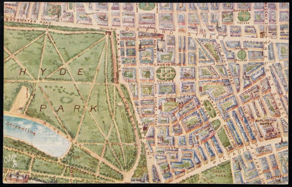Sections Of London Map.Map Of London In 6 Sections V Museum Of Fine Arts Boston
