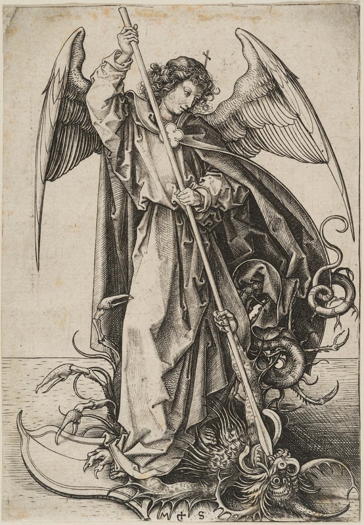 saint michael slaying the dragon museum of fine arts boston