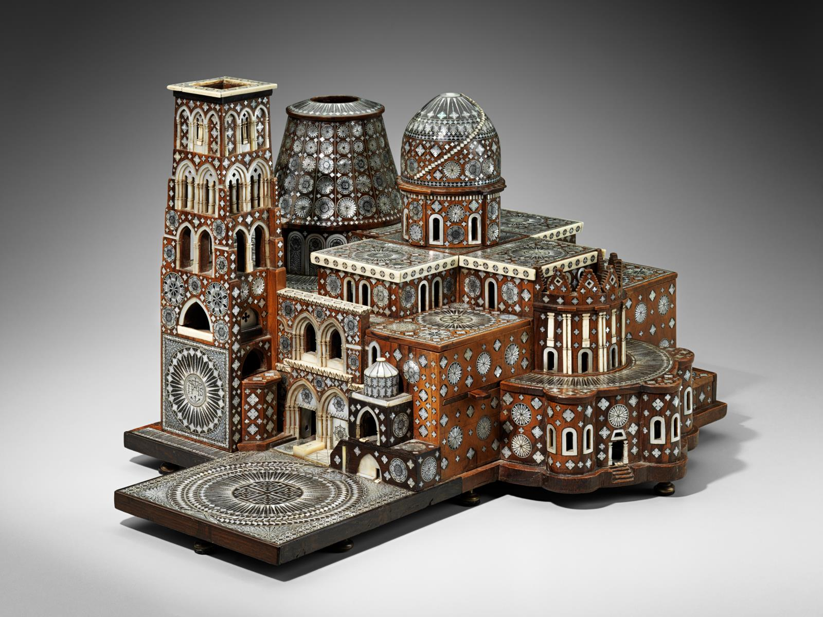 A Model Of The Church Of The Holy Sepulcher Jerusalem