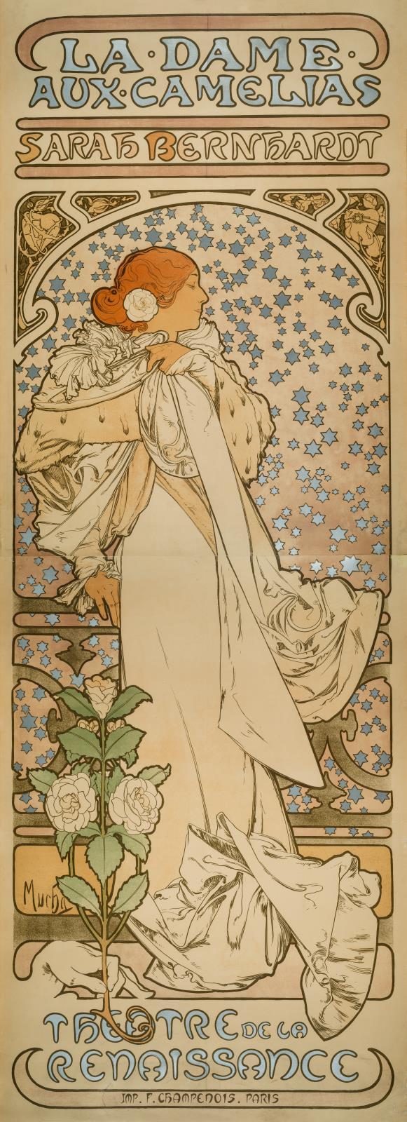9dd249983 La Dame aux Camélias  Sarah Bernhardt  Théâtre de la Renaissance