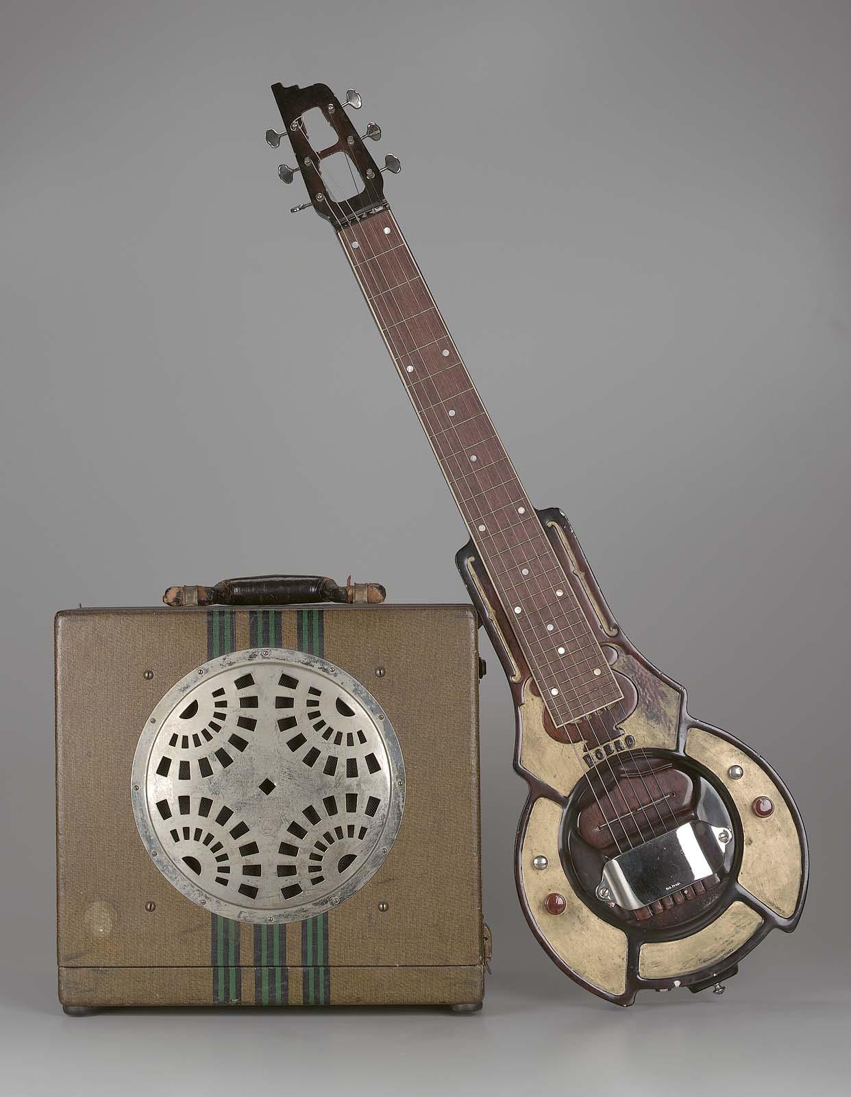 Lap Steel Guitar No 1 Hawaiian Model