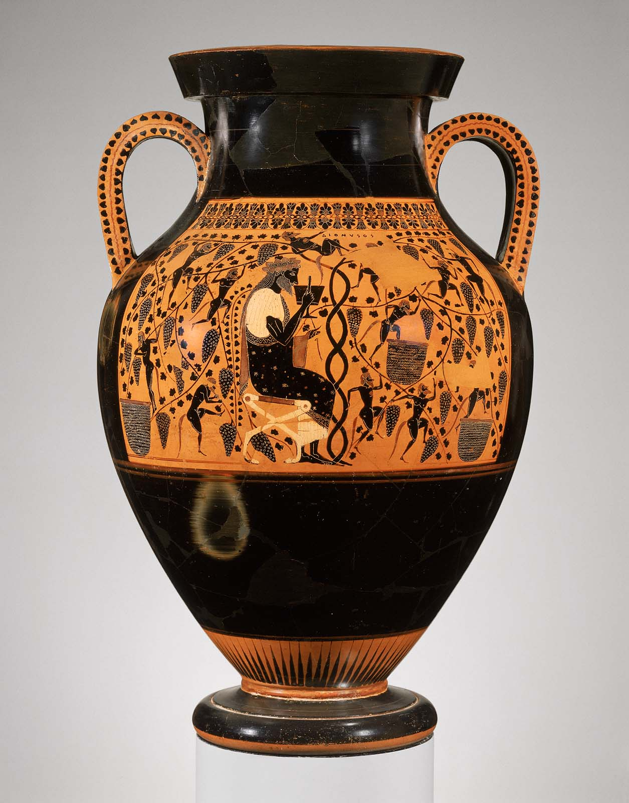 You are here & Two-handled jar (amphora) | Museum of Fine Arts Boston