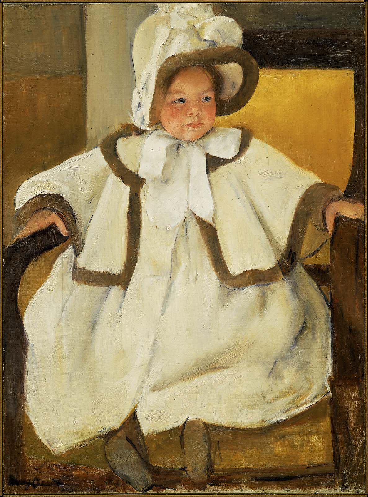 ellen mary in a white coat museum of fine arts boston