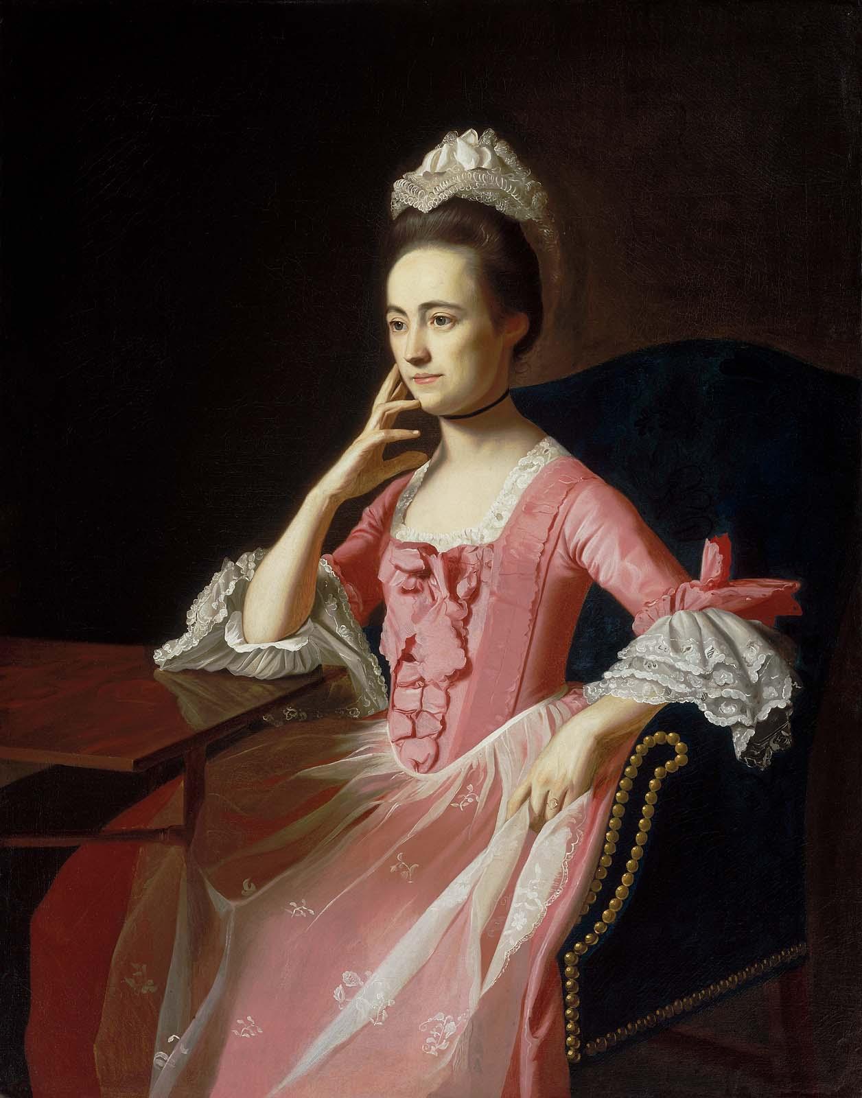 Paintings Of The John Hancock S Children