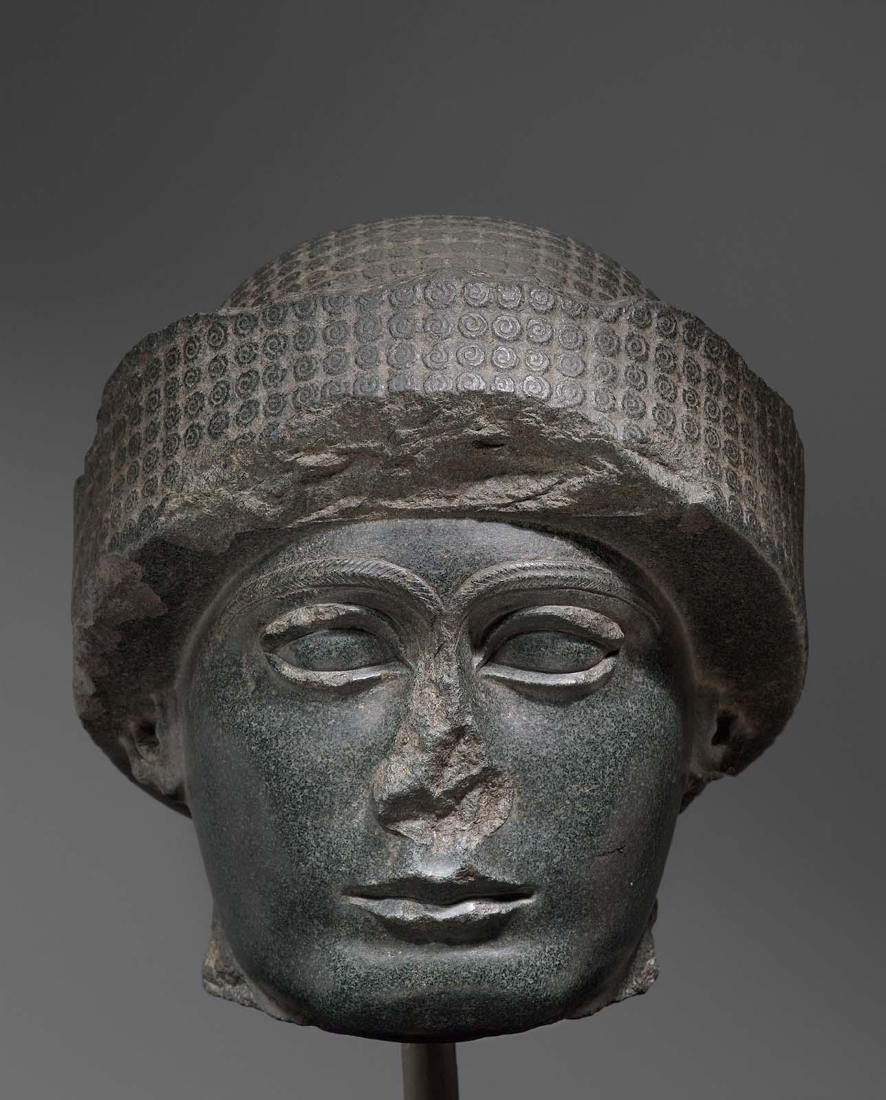 Head Of Gudea Museum Of Fine Arts Boston