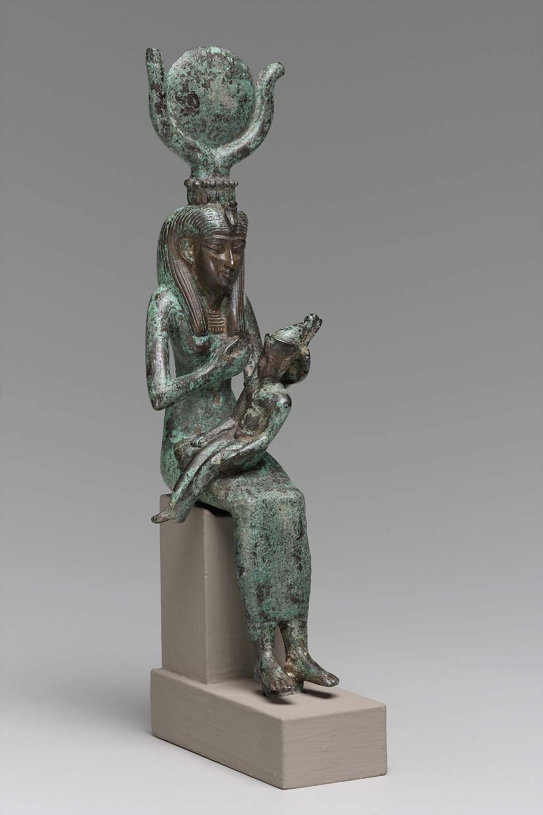 Isis Statuette Goddess Nursing Horus – Quotes of the Day