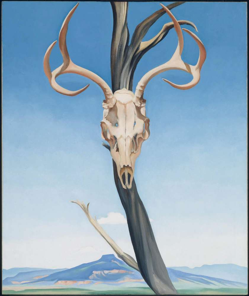O Deer Deeru0027s Skull with Pedernal