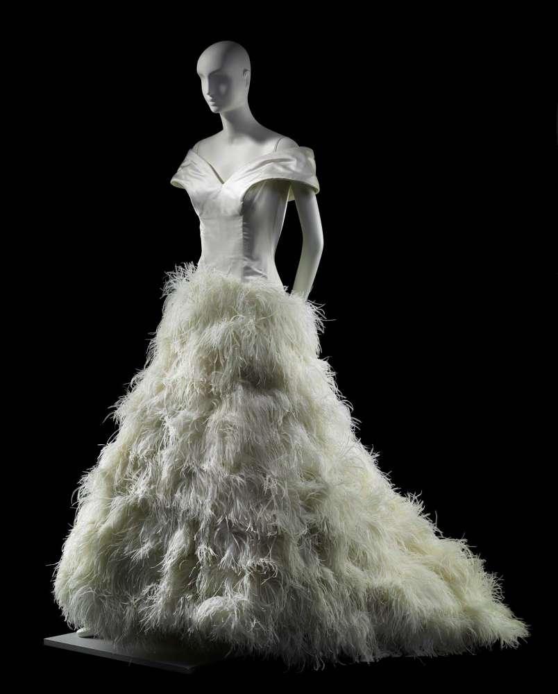 Woman S Wedding Dress Museum Of Fine Arts Boston