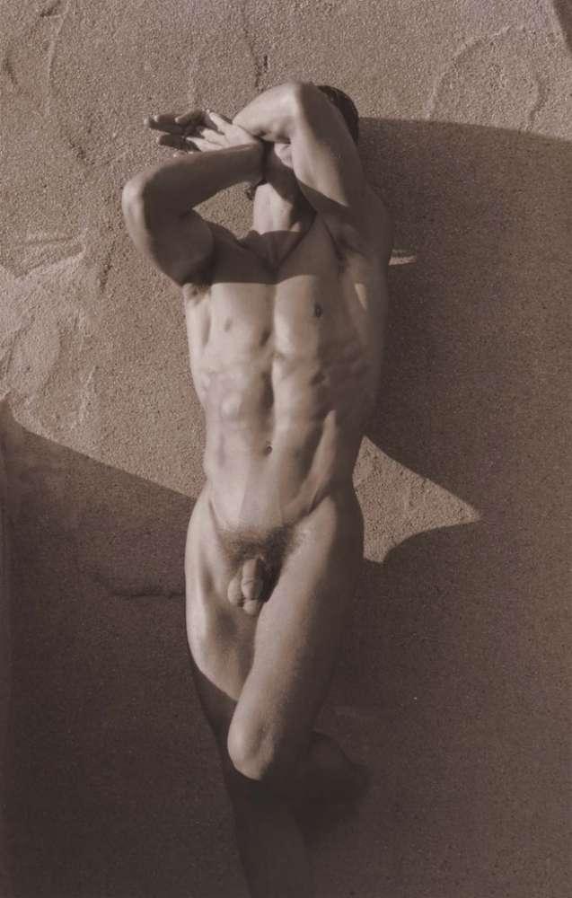Fine art male naked