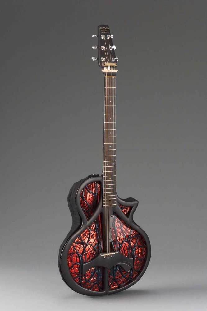 modular electric acoustic guitar museum of fine arts boston. Black Bedroom Furniture Sets. Home Design Ideas