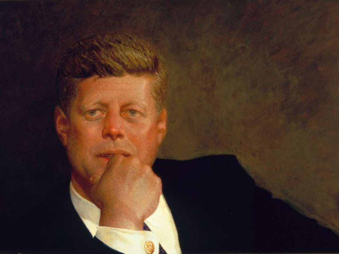 Portrait of John F. Kennedy 1967