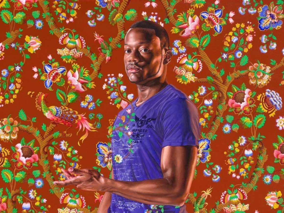 Kehinde Wiley, John 1st Baron Byron, 2013. Juliana Cheney Edwards Collection, The Heritage Fund for a Diverse Collection and funds donated by Stephen Borkowski in honor of Jason Collins.