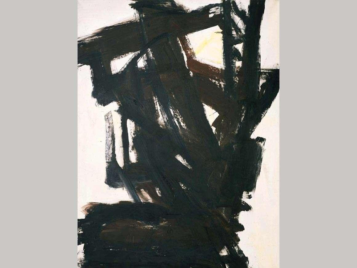 Franz Kline's painting, Probst I