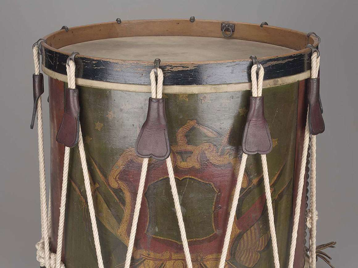 Detail of side drum