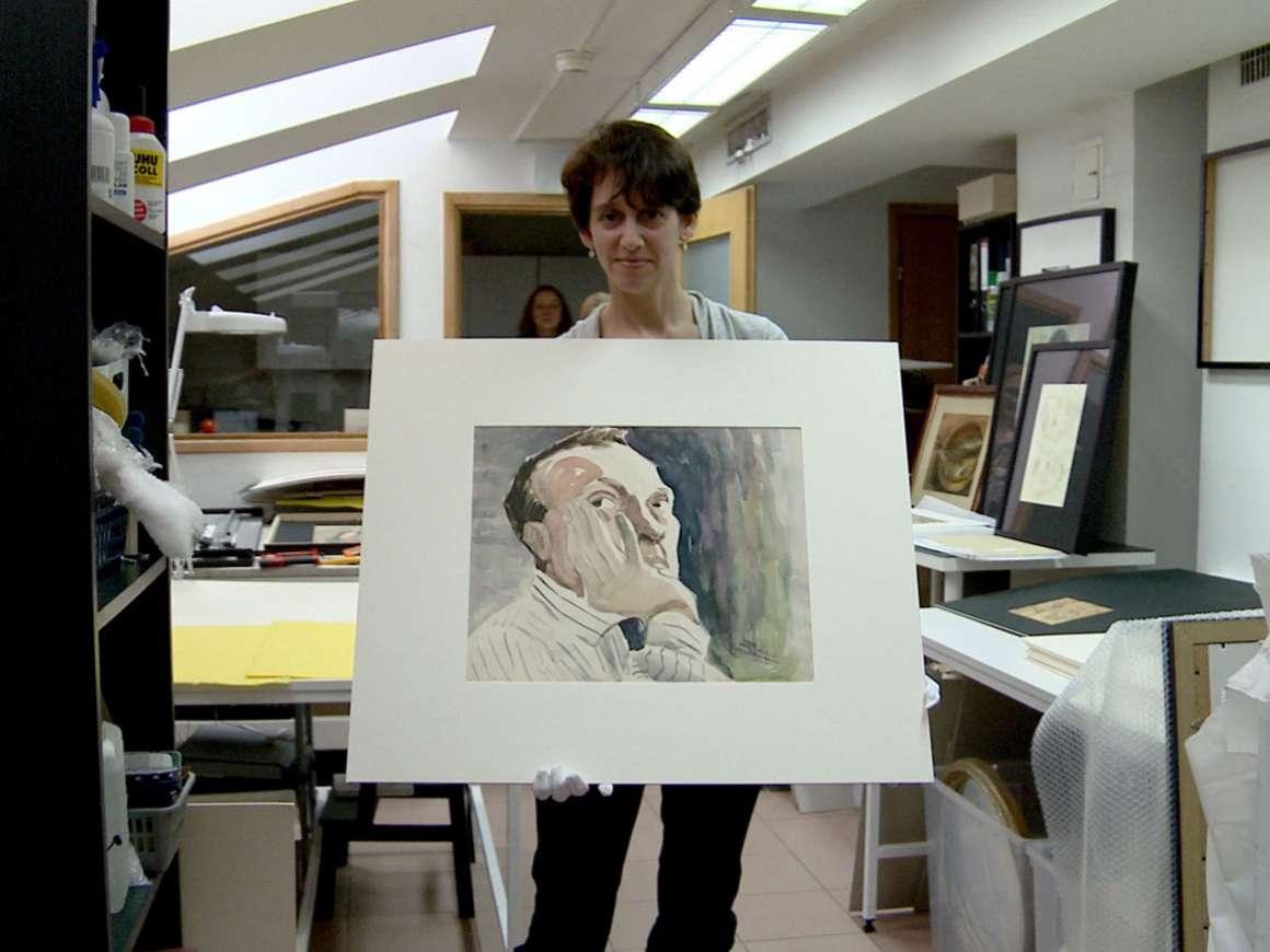 Film Still: Chasing Portraits