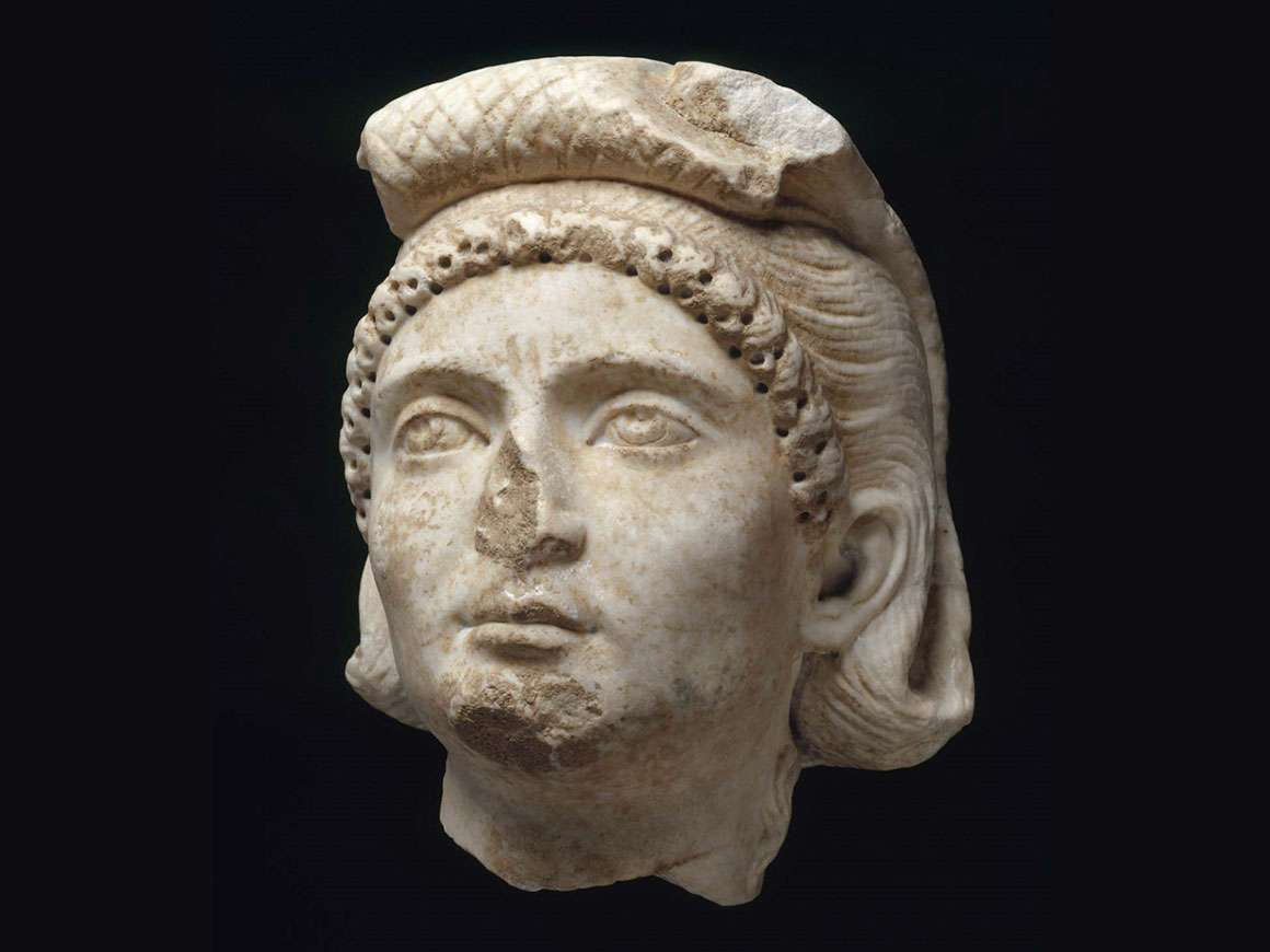 Roman, Late Imperial Period, Portrait of a woman, late 3rd century