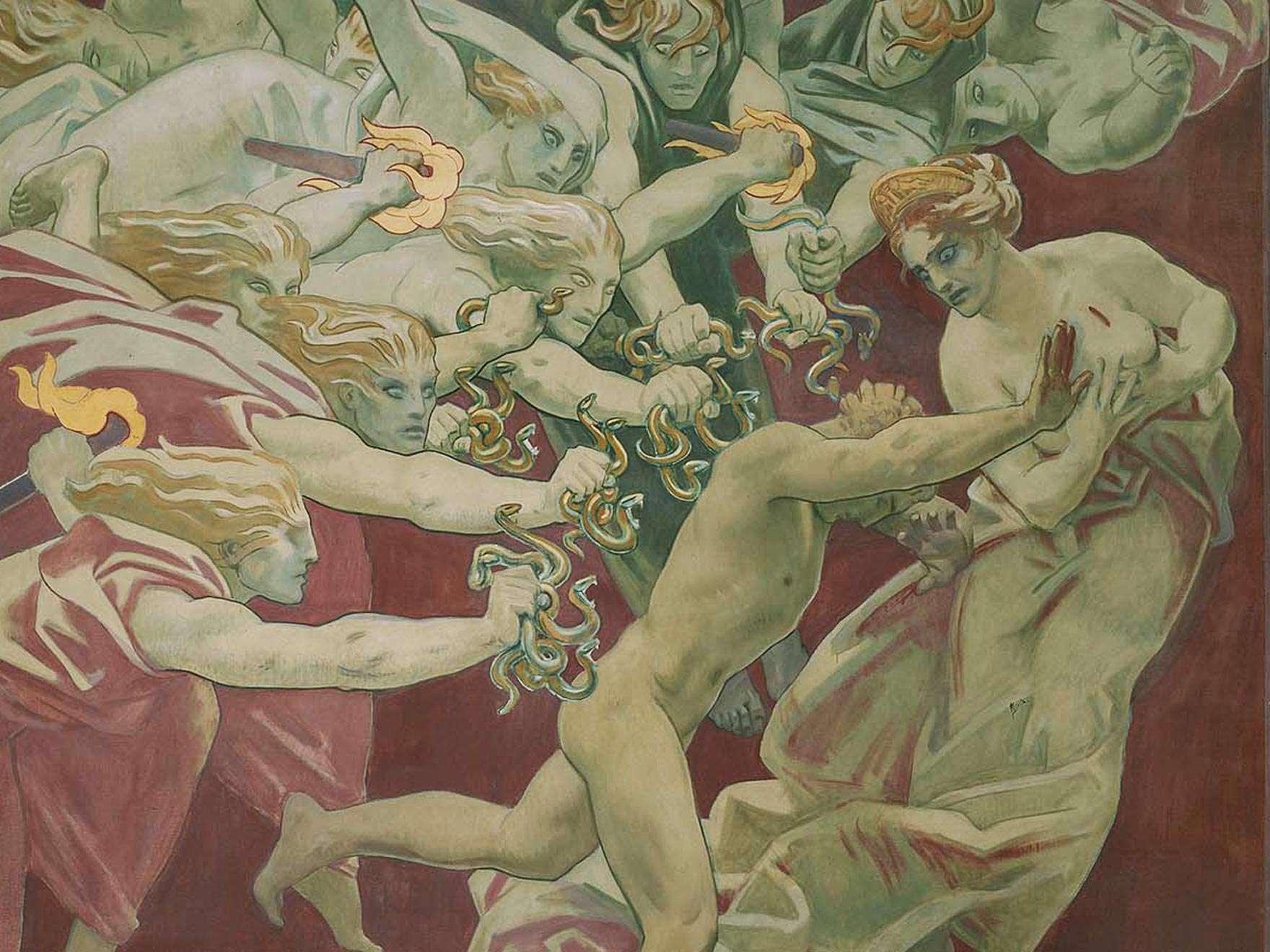 John Singer Sargent, Orestes, 1922-25