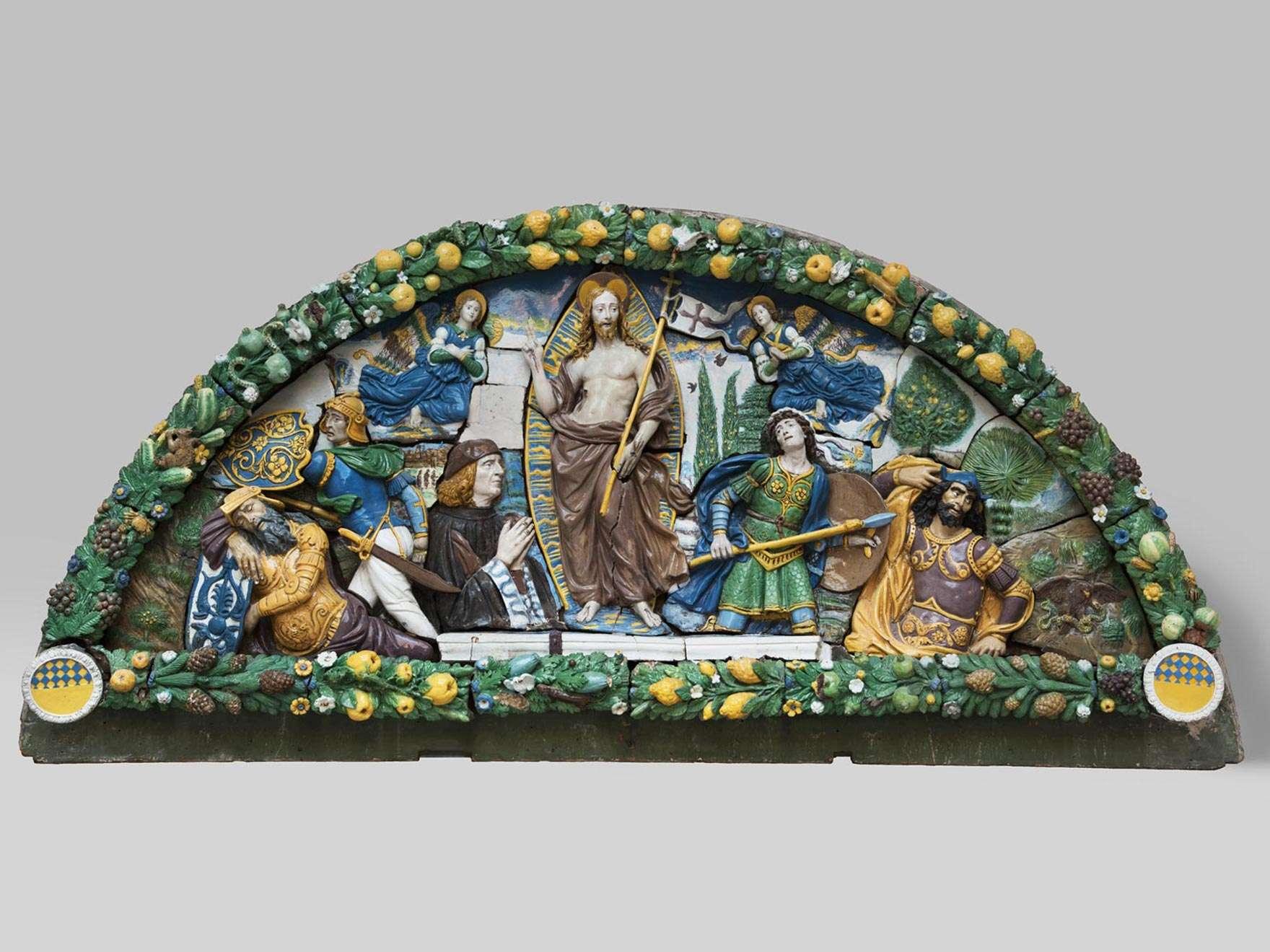 Giovanni della Robbia, Resurrection of Christ, about 1520-24
