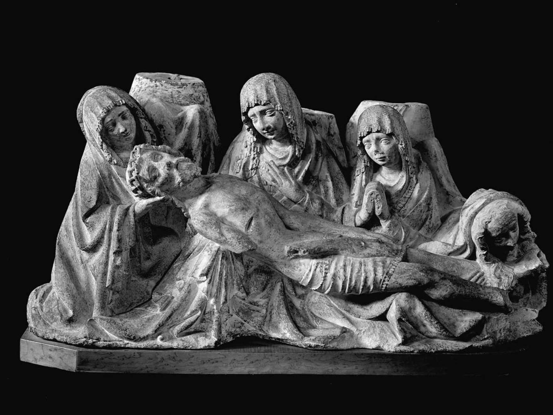 Lamentation sculpture