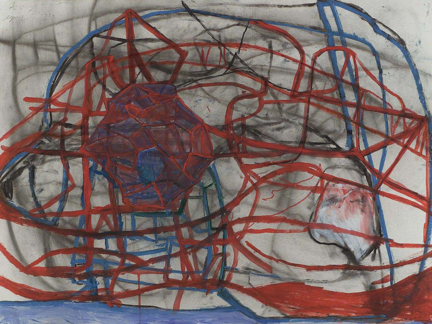 Terry Winters' untitled 1994 drawing