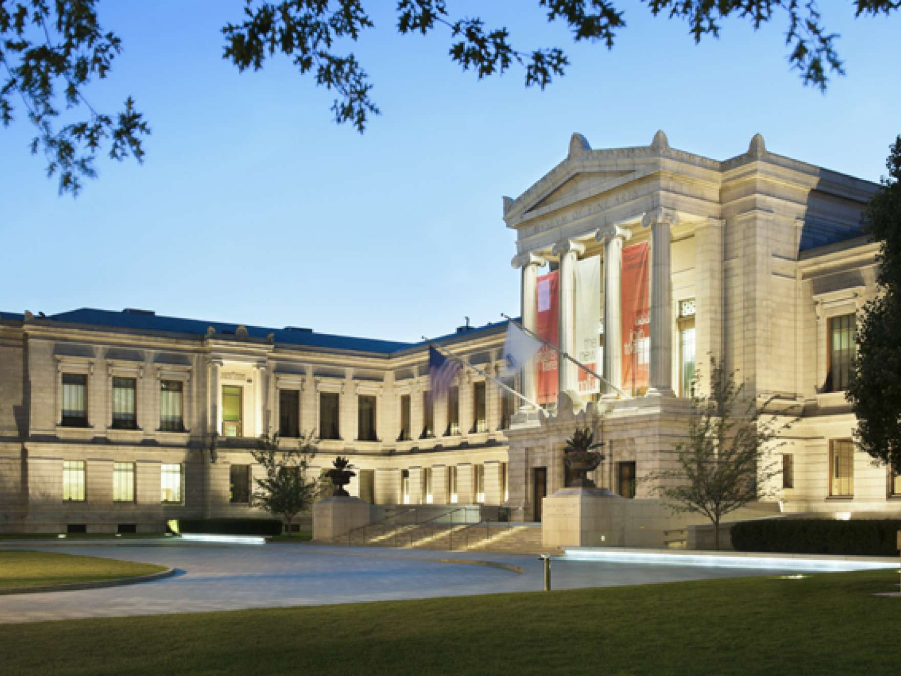 Museum of Fine Arts Boston, Huntington Avenue Entrance