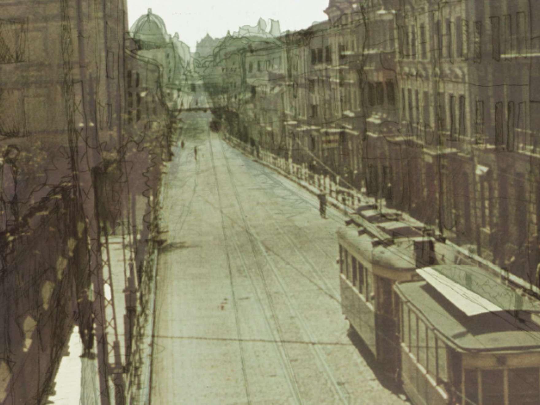 Film still from documentary, Line 41