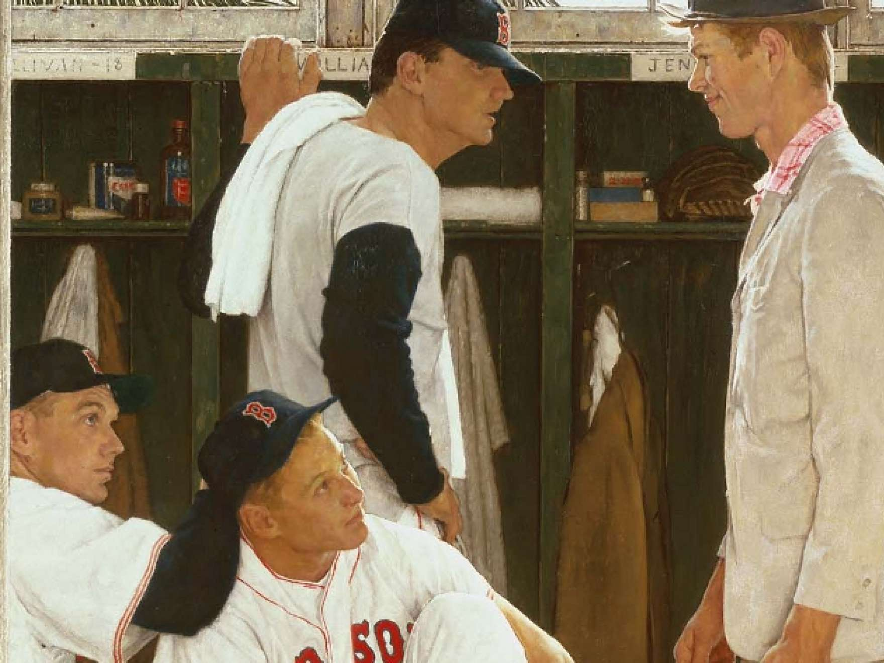 Rockwell And The Red Sox Museum Of Fine Arts Boston
