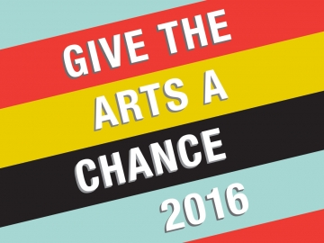 Give the Arts a Chance 2016 logo