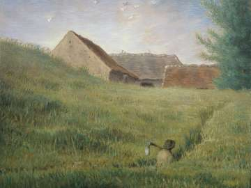 Jean-François Millet, Path through the Wheat, about 1867