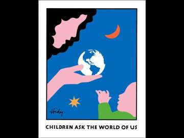 Lance Hidy, Children Ask the World of Us (Moon & Star,) 1985