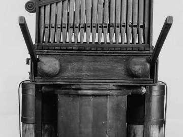 Organ (hydraulis, after 1st-century Roman type)