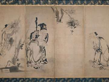 The Four Sages of Mount Shang